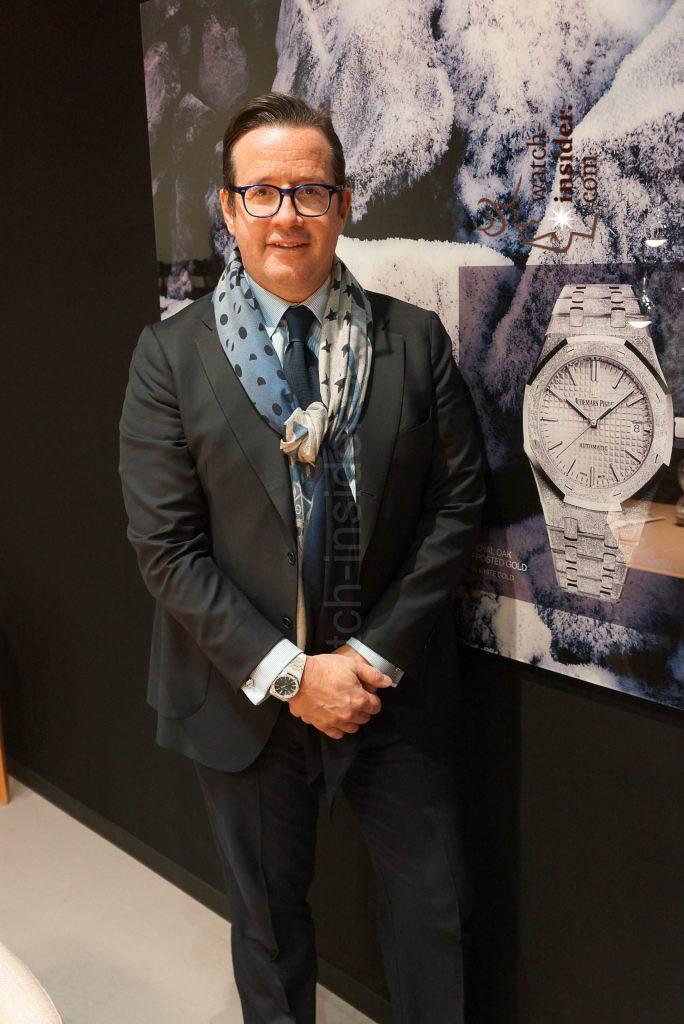 Francois-H. Bennahmias CEO Audemars Piguet
