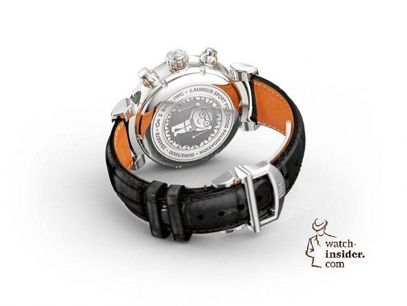 "IWC Da Vinci Chronograph Edition ""Laureus Sport for Good Foundation"""