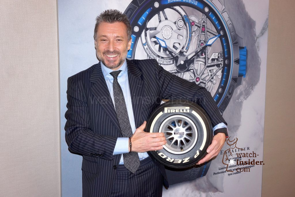 #SIHH 2017: Interview with Jean-Marc Pontroué, CEO of Roger Dubuis