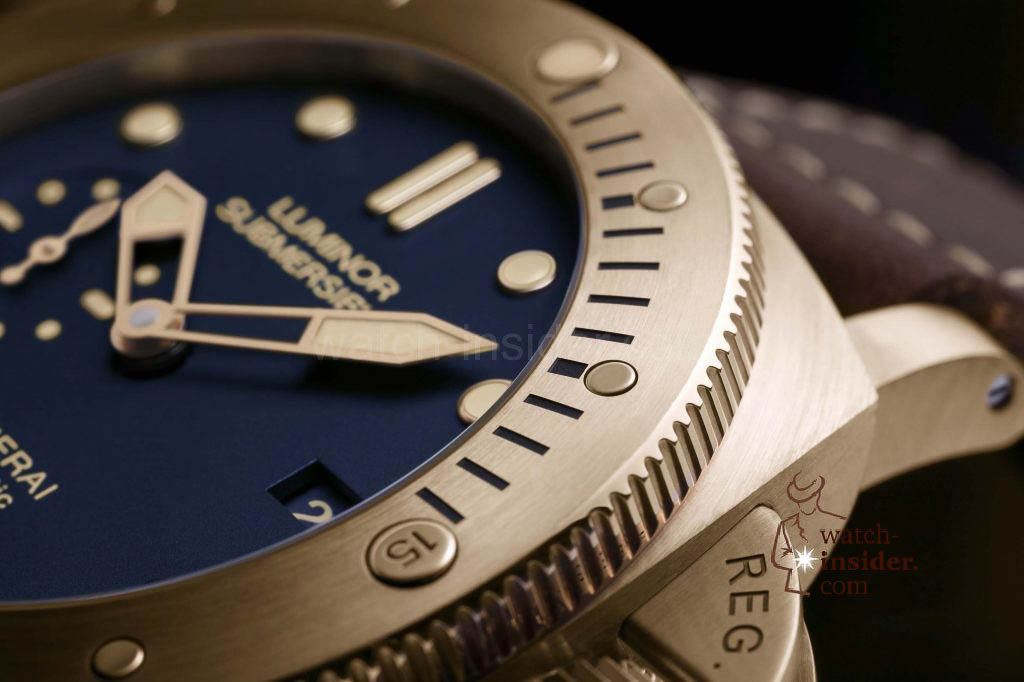 Panerai Luminor Submersible 1950 3 Days Automatic Bronzo - 47mm