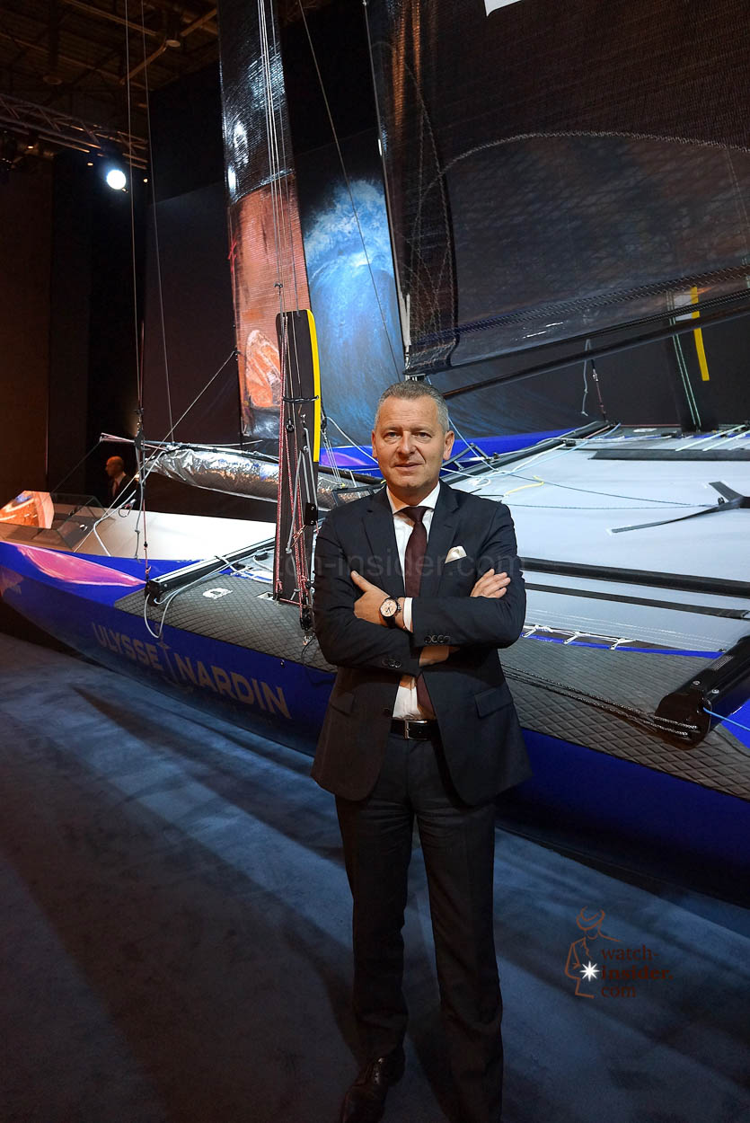 Patrik Hoffmann CEO Ulysse Nardin