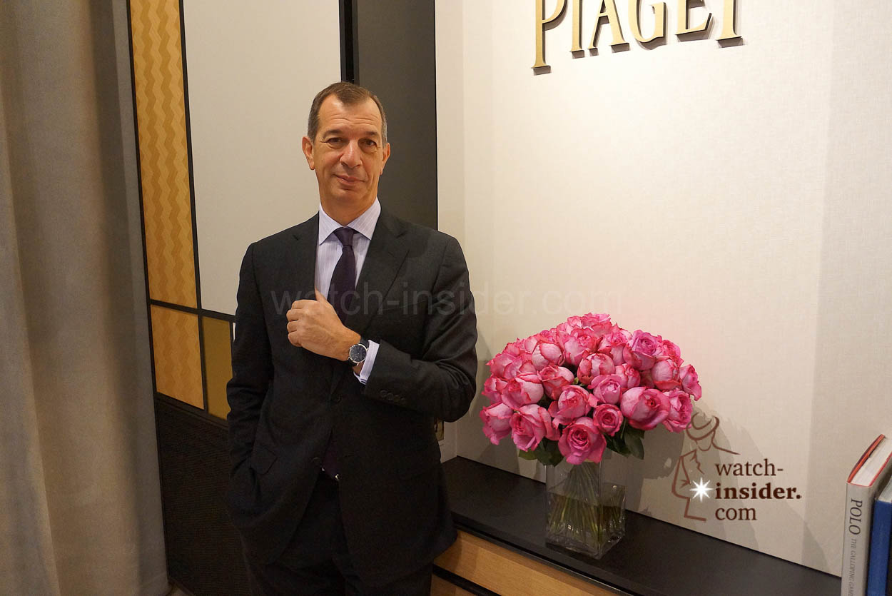 Philippe Leopold-Metzger, CEO Piaget