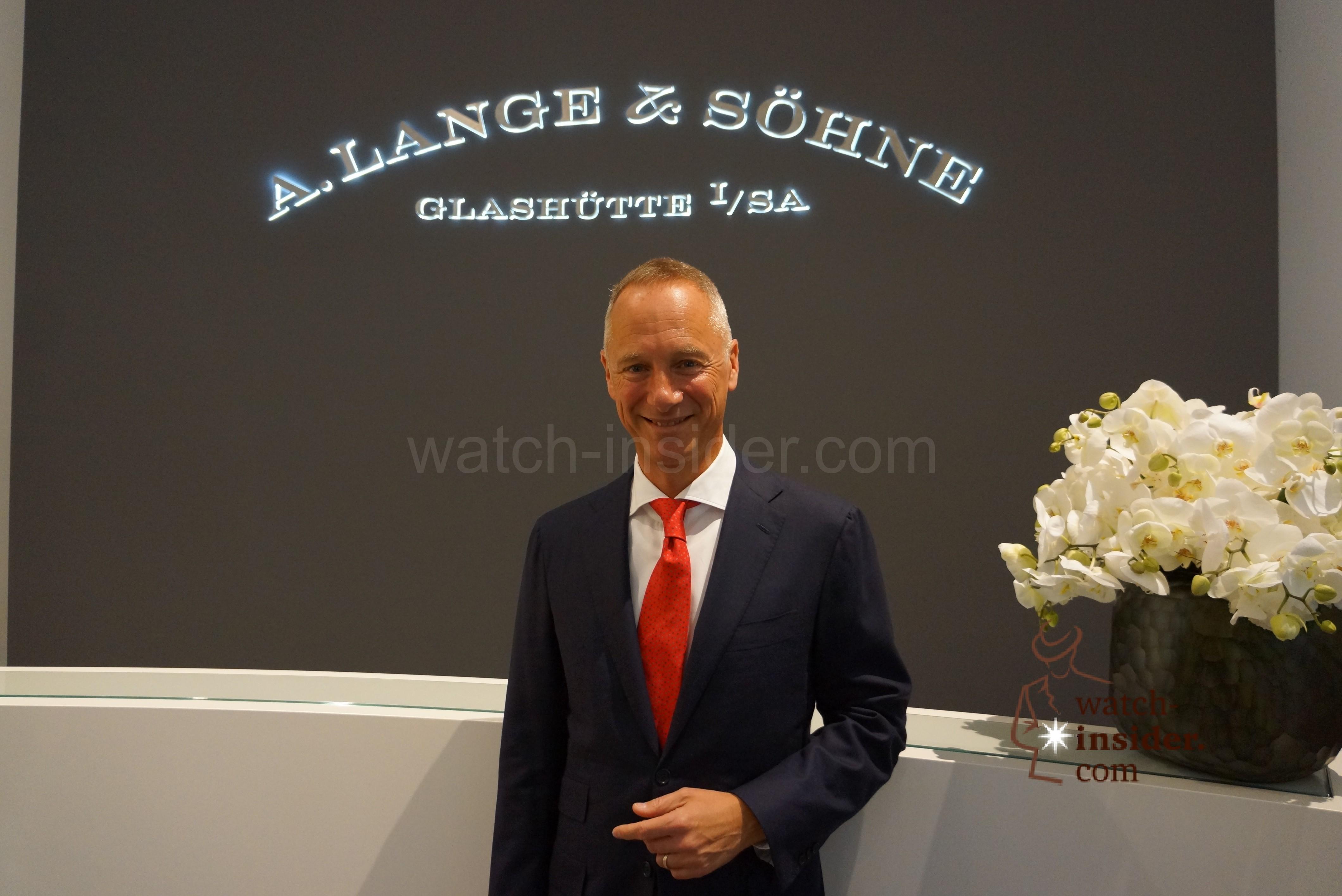 Wilhelm Schmid CEO of A. Lange & Söhne