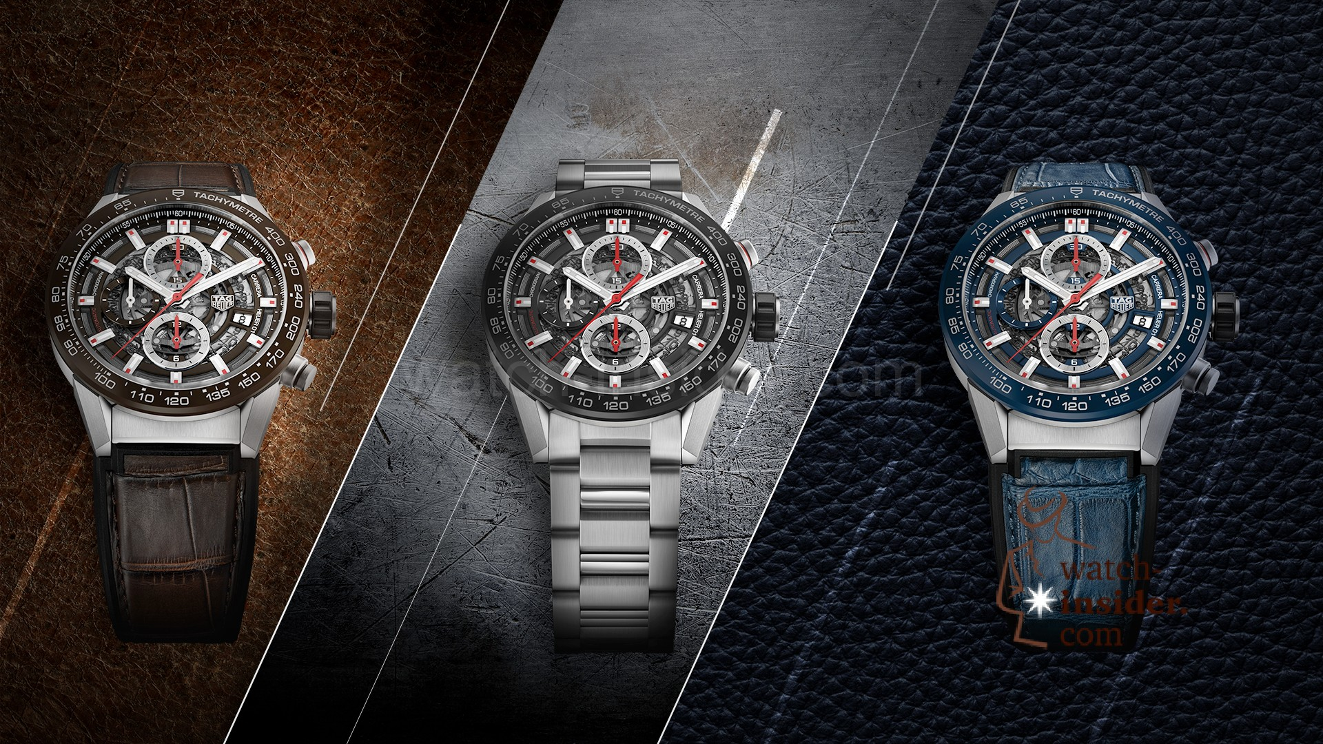 c5c10791b2ac Three new TAG Heuer CARRERA Heuer-01 43 mm chronographs – Watch ...