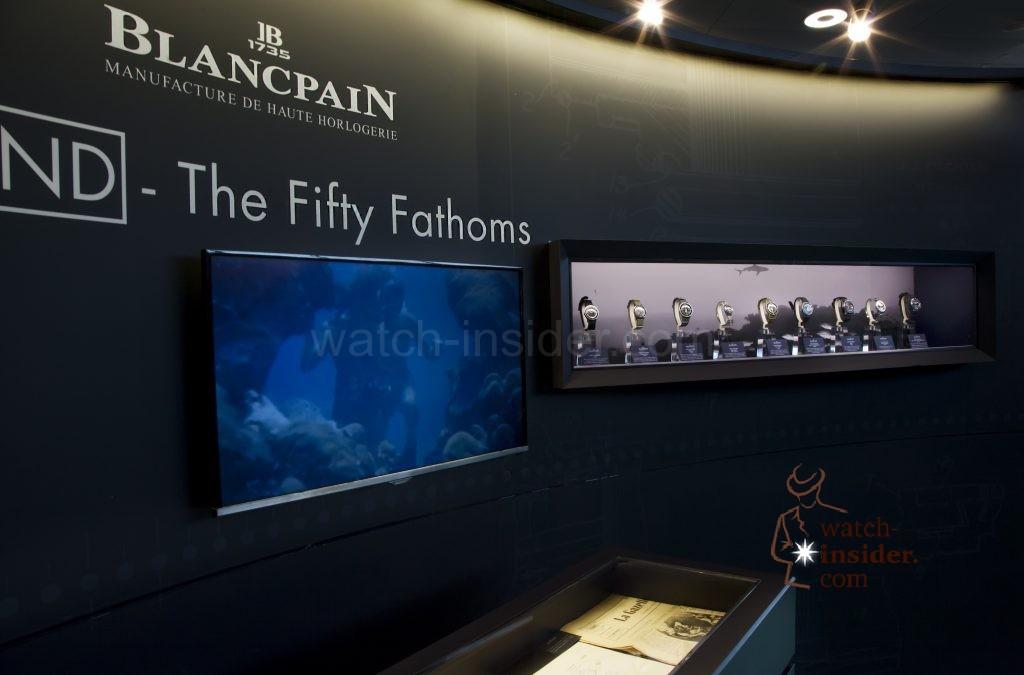 Blancpain Ocean Commitment Exhibition at Zurich (ZRH) Airport