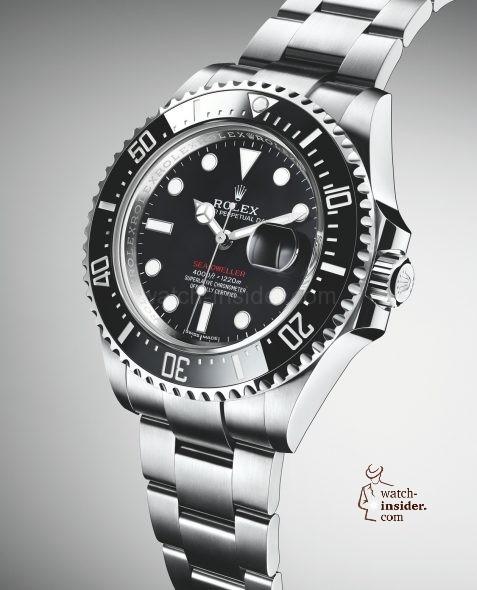 Rolex Sea Dweller Anniversary Model Ref 126600 Watch Insider Com