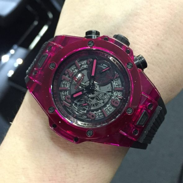 Hublot Big Bang Unico Sapphire Red and Blue