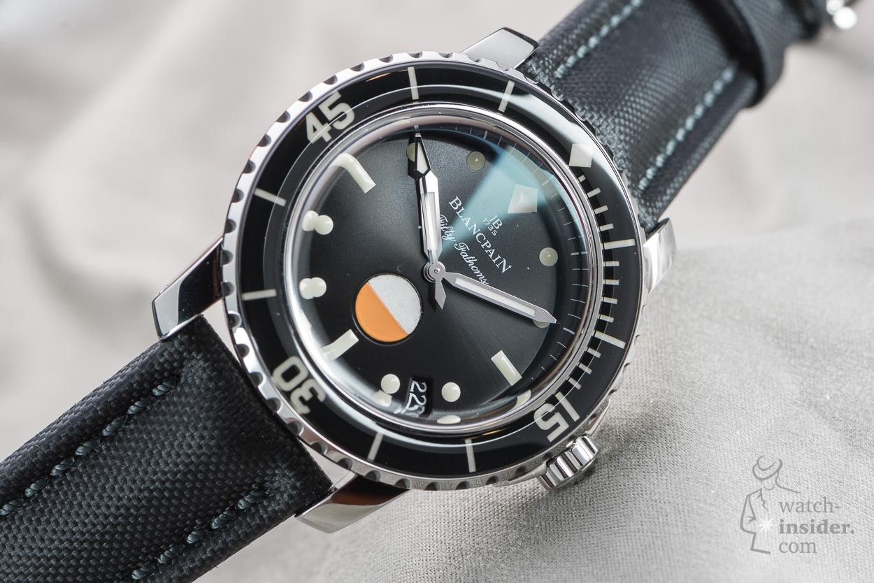 Blancpain Tribute To Fifty Fathoms Mil Spec Watch Insider Com