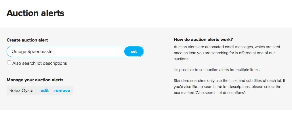 Catawiki_Auction-Alert