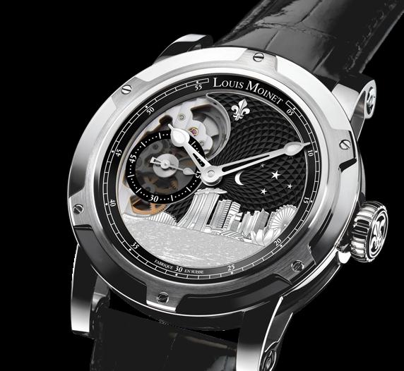 Louis Moinet Singapore Edition Watch