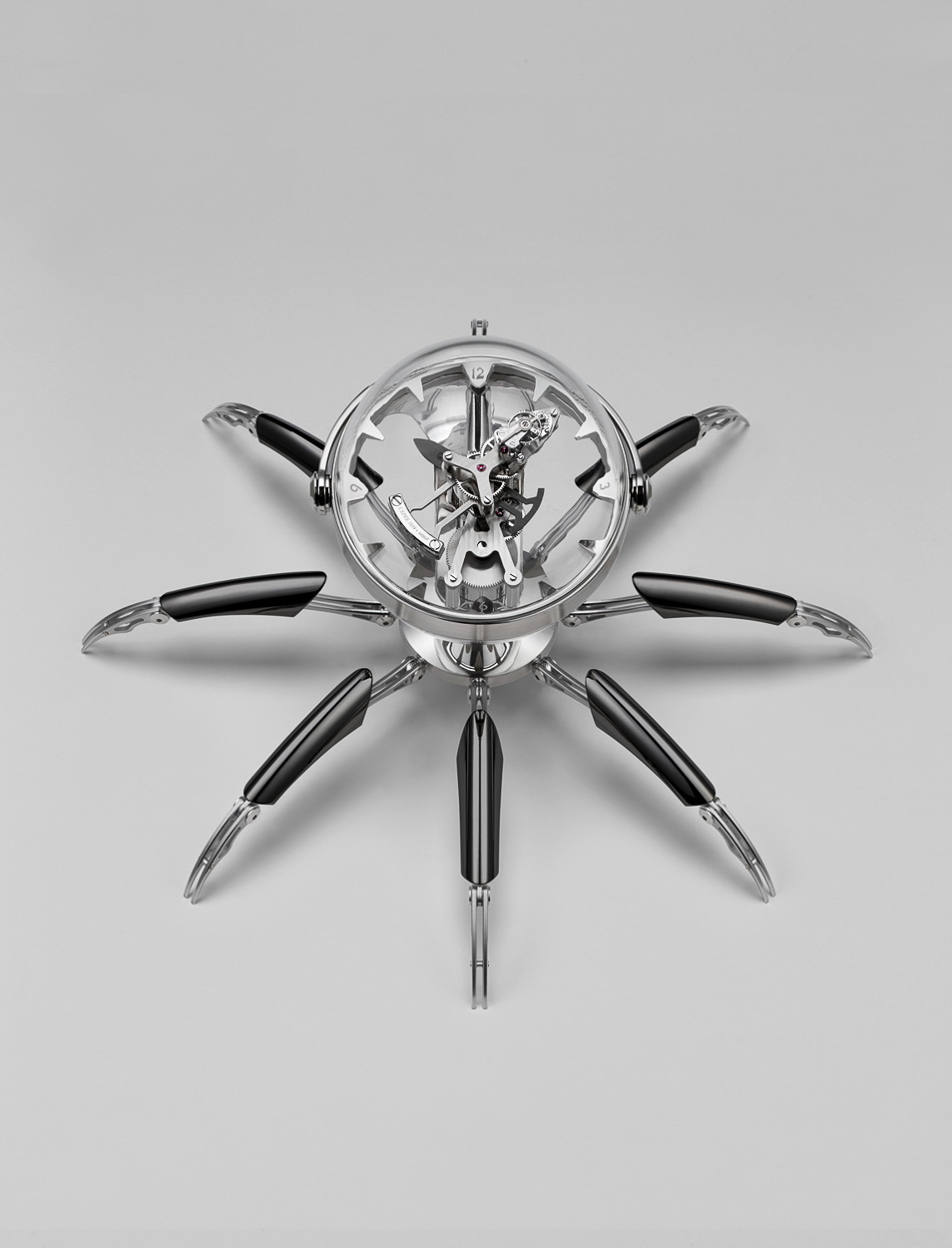 MB&F presents their latest creation the Octopod table clock