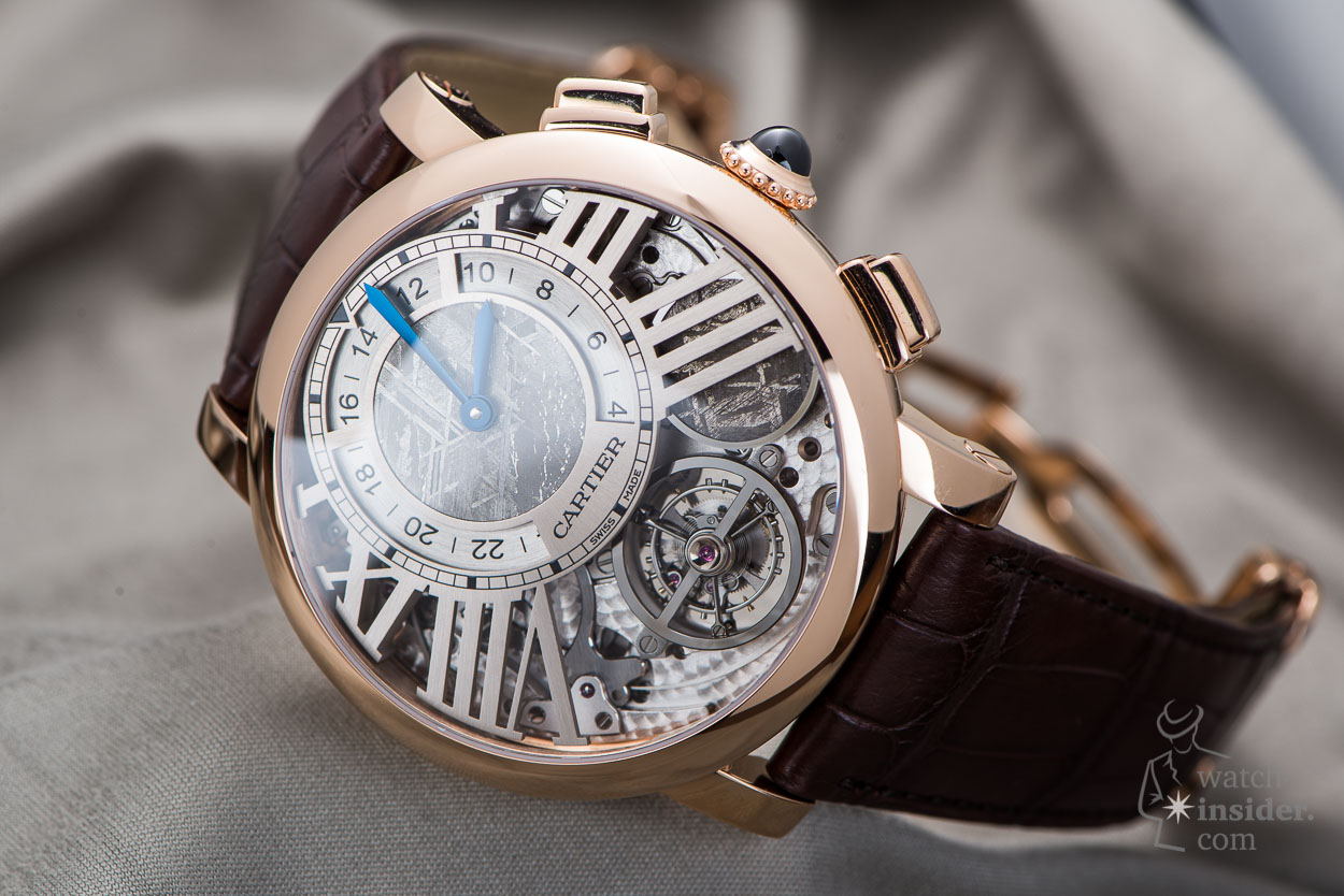 Sunday Showcase - Cartier Rotonde de Cartier Earth and Moon