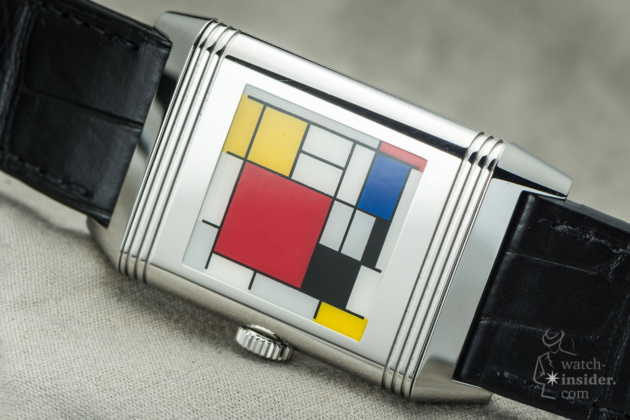Jaeger-LeCoultre Reverso Mondriaan edition for Steltman anniversary