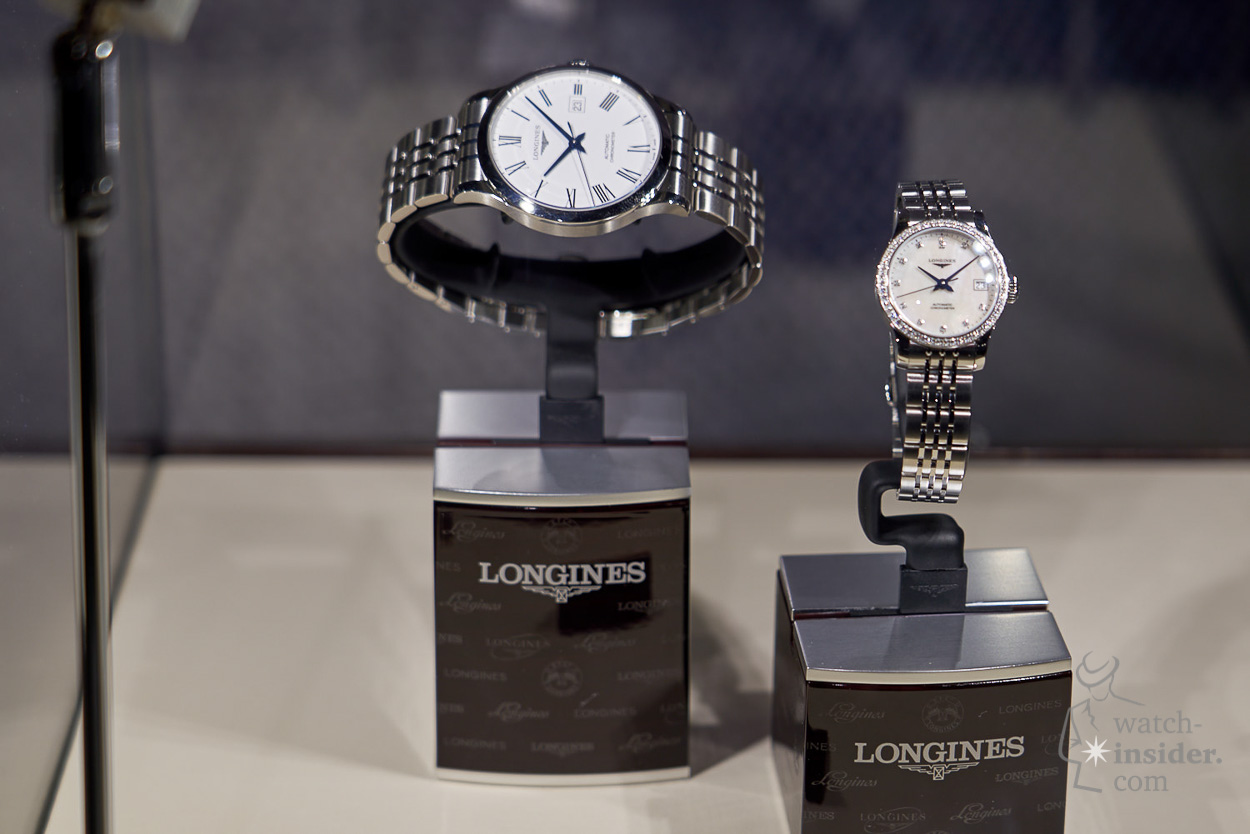 Longines 185th Anniversary exhibition in Beijing featuring new Record collection
