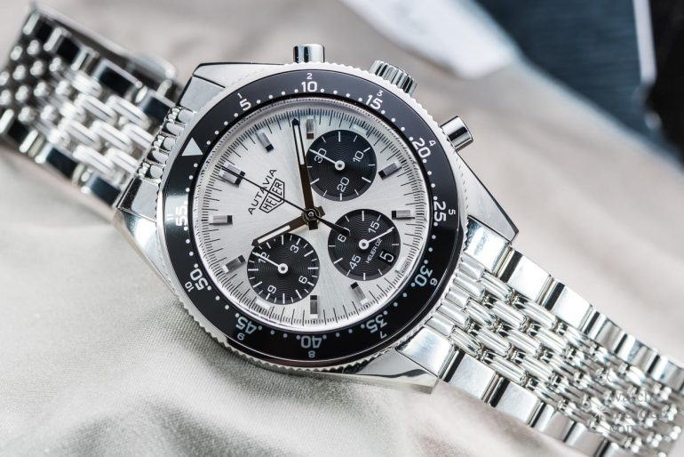 Heuer autavia jack heuer 85th birthday special edition review watch for Tag heuer autavia