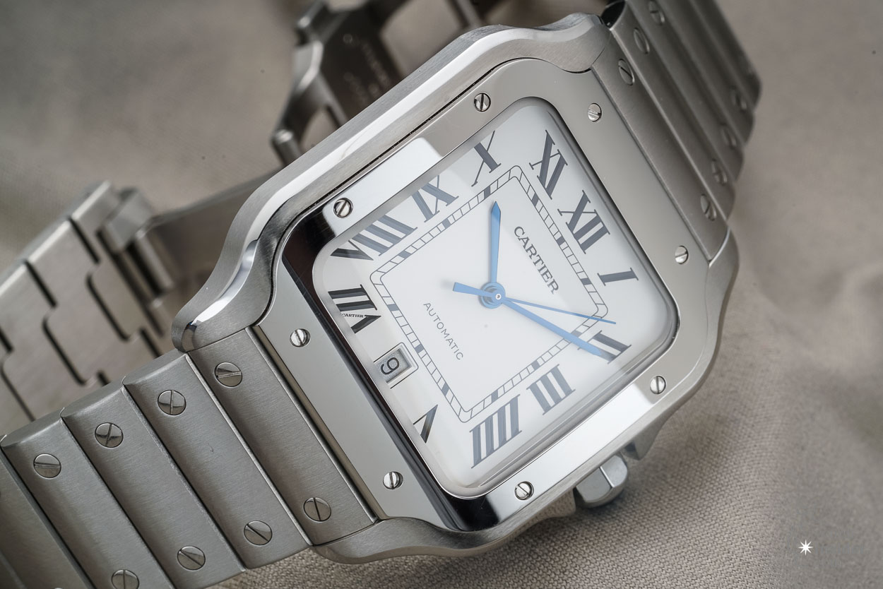 Cartier Santos Large with date 2018