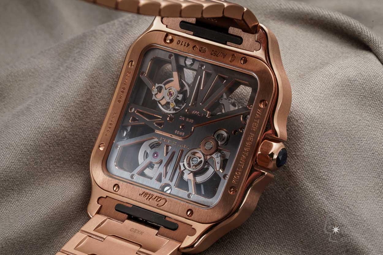 santos de cartier skeleton watch watch insider com