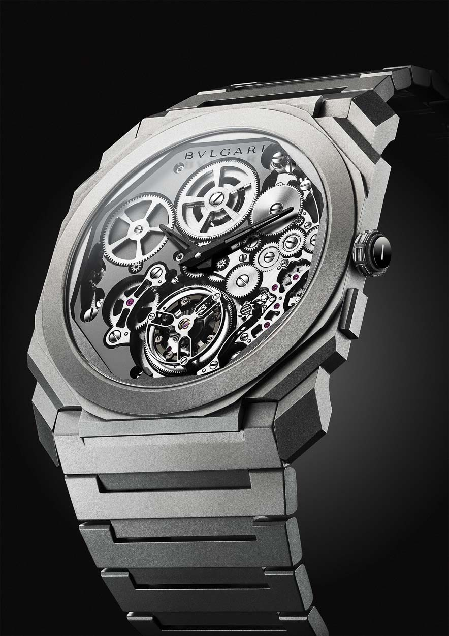 Bvlgari Octo Finissimo Tourbillon Automatic World Record
