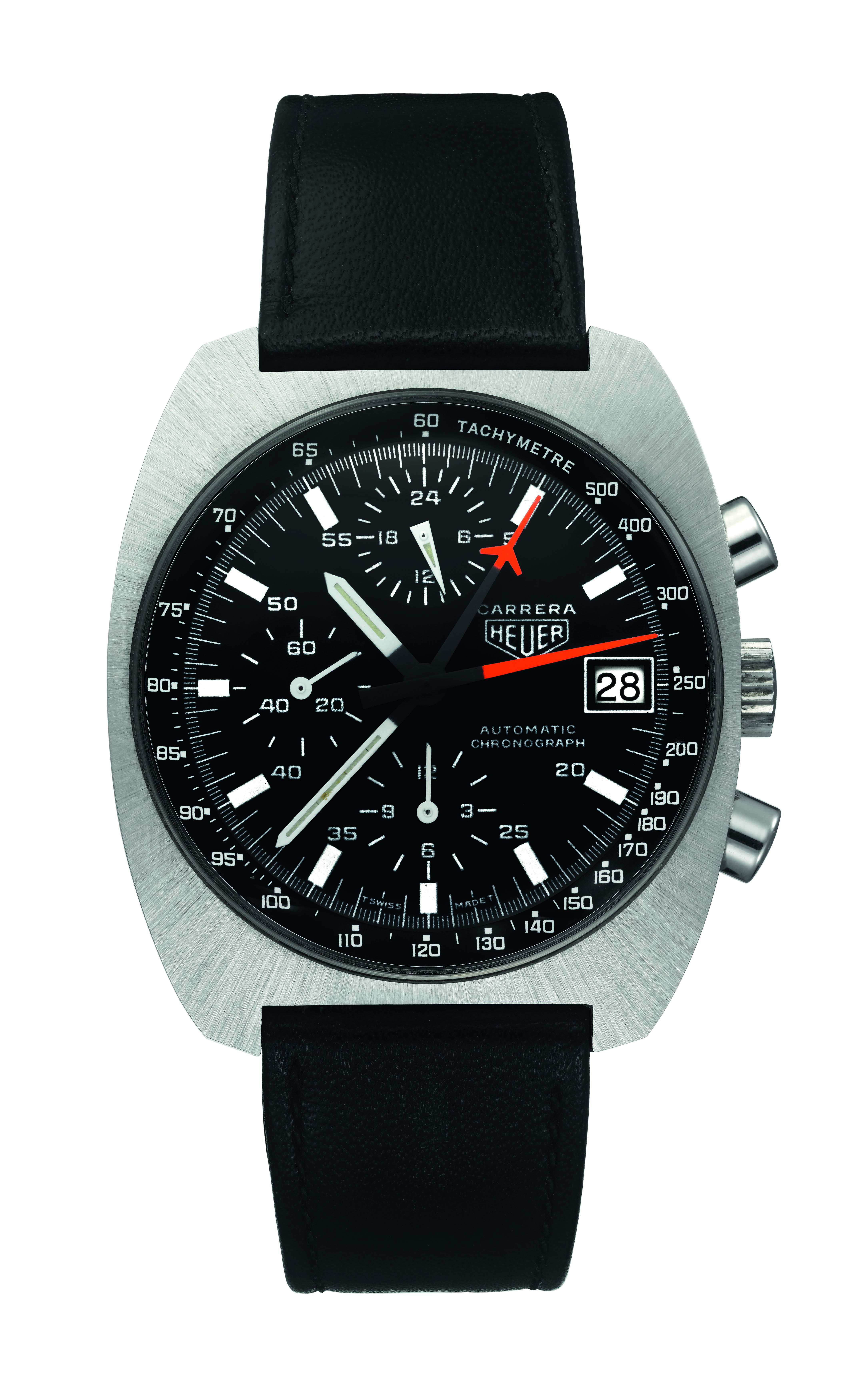 TAG Heuer Carrera Lemania - 55 years 80s
