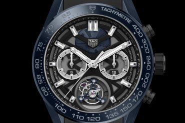 "f62b41984b9b9 TAG Heuer launches the TAG Heuer Carrera ""Tête de Vipère"" Chronograph  Tourbillon Chronometer"