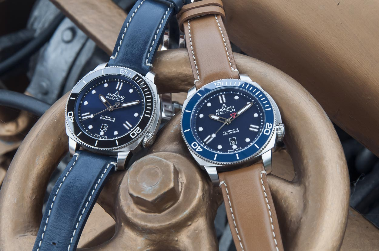 327a6f252 Anonimo shines blue for this summer – Watch-Insider.com
