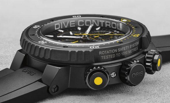 Oris ProDiver Dive Control Chronograph
